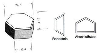 l-sechskant-steinmuster